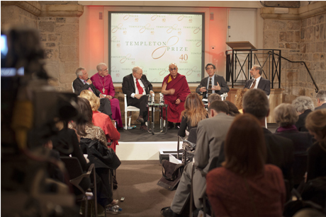 Amzing Grace: The Dalai Lama on the Templeton prize panel