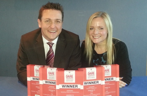 Winners: Liquid MD Jason MacKenzie and CEO Lis Lewis-Jones
