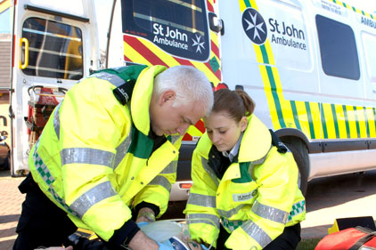 Comms blitz: St John Ambulance