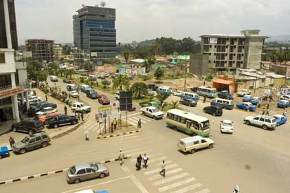 Ethiopian capital: Addis Ababa