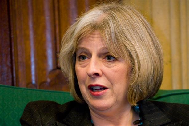 Under pressure: Home Secretary Theresa May