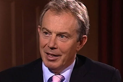 EU Presidency bid: Tony Blair