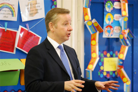 Learn by your mistakes: Michael Gove (Credit:  Education gov uk)