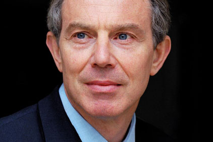 Set for return: Tony Blair