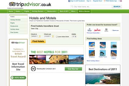 TripAdvisor: on the hunt for a PR agency