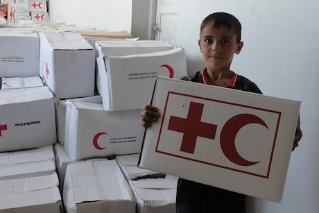 British Red Cross: working with the Red Crescent in Syria