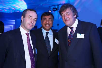 Last year's awards: Lionel Barber, Lakshmi Mittal and Stephen Fry