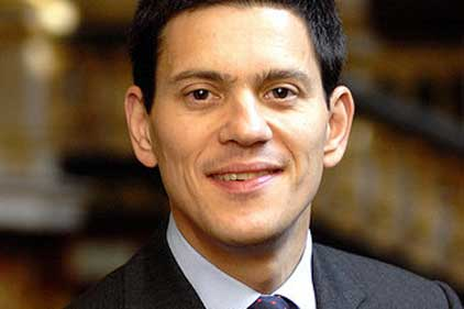 Support from Blair and Mandelson: David Miliband
