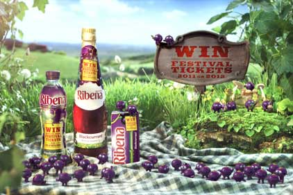 Ribena: to target mums and young women