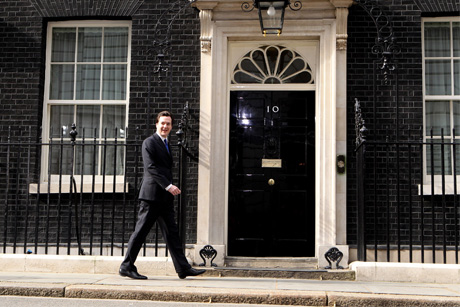 Well-trodden route: Several of Osborne's staff have moved to No 10 (Credit: Getty Images)