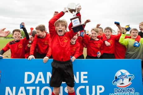 Danone Nations Cup: international youth football tournament