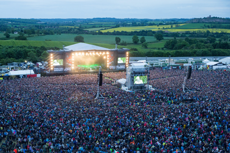 Download Festival: One of the festivals in Live Nation's consumer PR portfolio
