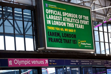 Paddy Power: Unofficial Olympics campaign