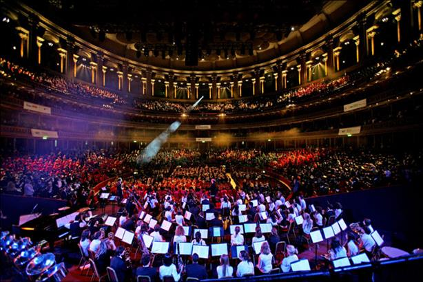 Royal Albert Hall: wants to promote it's open to everyone