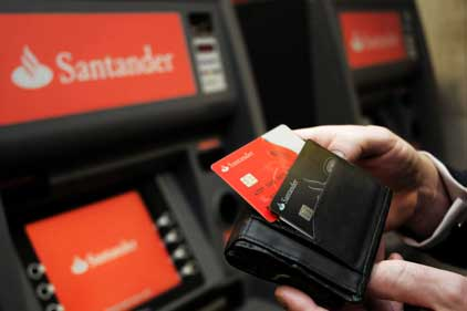 Santander: has called in Eulogy to launch its SME programme