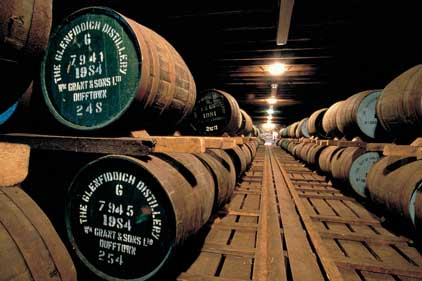 Glenfiddich: wants to target UK and France