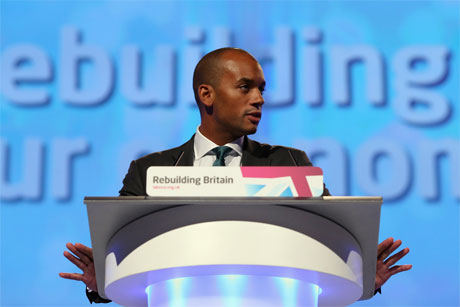 MP Chuka Umunna: caught editing Wikipedia page (Credit: Getty Images