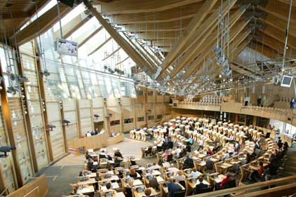 Holyrood: Scottish Parliament