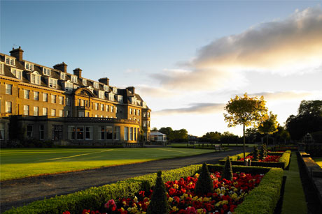 Five-star: Gleneagles Hotel