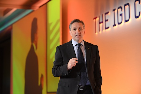 Exit: Sainsbury's chief executive Justin King (picture: Tom Parkes)