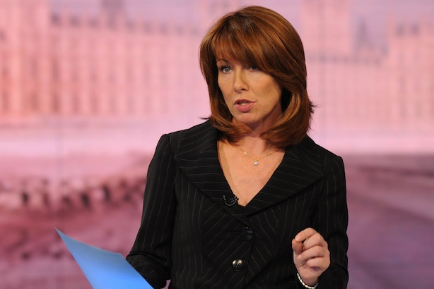 Kay Burley: the Sky News presenter was interviewed by Weber Shandwick's Colin Byrne