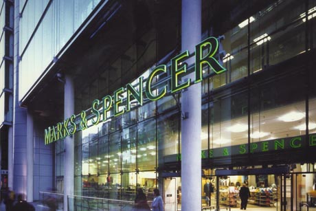 Marks & Spencer: most transparent UK company