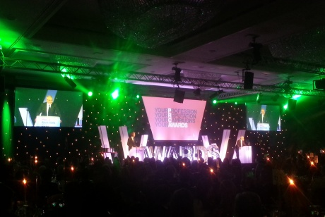 PRCA awards at the London Hilton