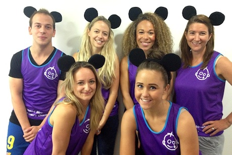 The Disney Dashers (not the Rodent Racers)