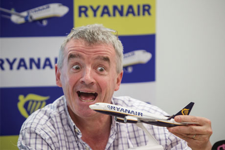 "Michael O'Leary: ""Short of committing murder, bad publicity sells more seats."""