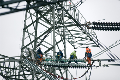 Power shift: National Grid plans to invest £30bn in the next decade (Credit: National Grid)