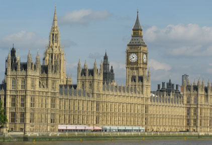 Houses of Parliament: debating lobbying bill