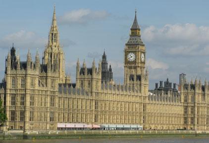 Houses of Parliament: debating lobbying bill