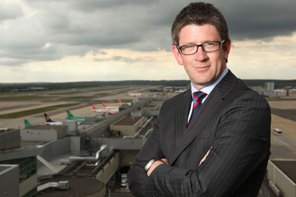 Challenge: Gatwick's Andrew McCallum aims to upstage Heathrow