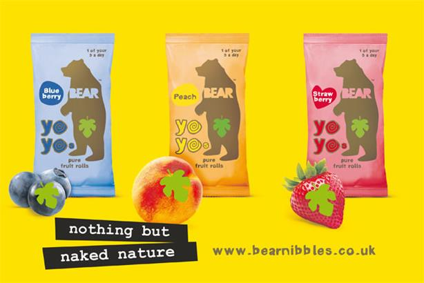 Snack brand Bear: launches first ever comms campaign
