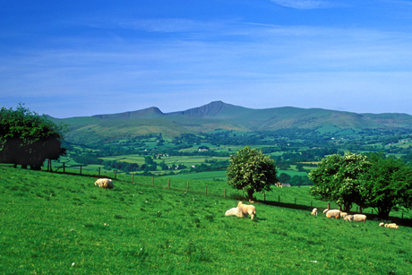 Brecon Beacons: Safeguarded by the National Heritage Memorial Fund