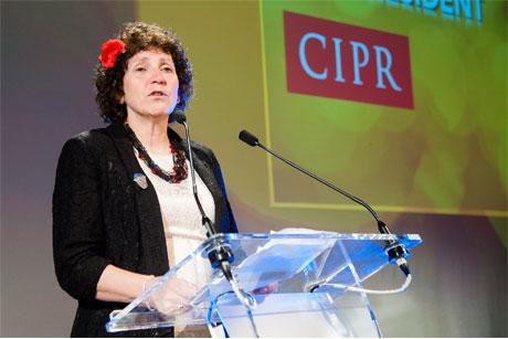 CIPR awards: President Sue Wolstenholme