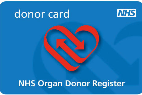 On the agenda: NHS Donor Register