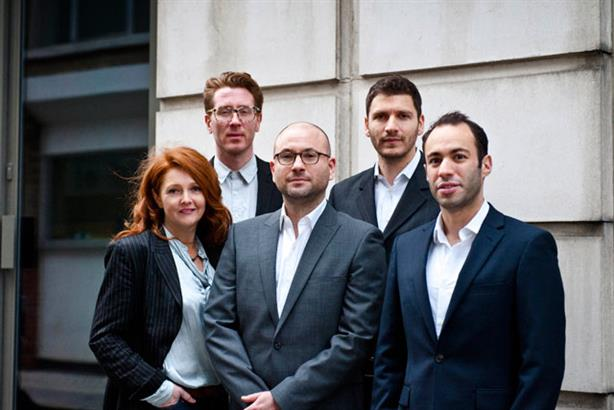 TVC Board (l-r): Sarah Harris, Greg Lappage, Nicky Minter-Green, Adam Clyne and James Myers