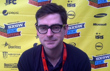 Malcolm Gooderham: at the SXSW festival