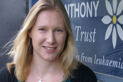 Tracey Sands: Anthony Nolan head of comms and public affairs