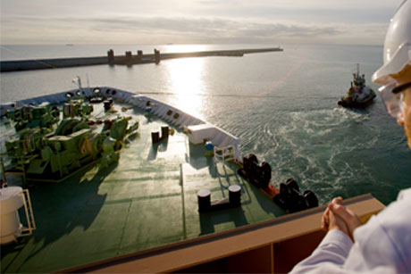 Sustainability: Shipping (Credit: BP Shipping)