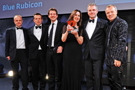 Decorated: Blue Rubicon wins the 2012 PRWeek Consultancy of the Year