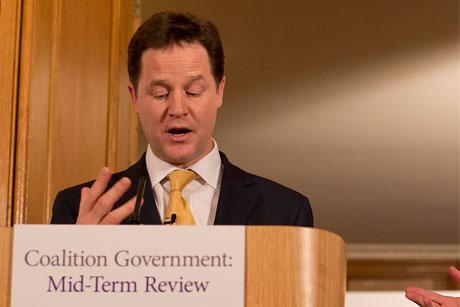 Radio gaga?: Clegg to host weekly radio phone-in
