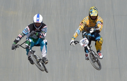 Pedal power: BMX enjoyed high exposure during the Games