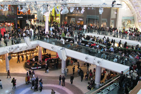Success story: The group has plans to expand Westfield London