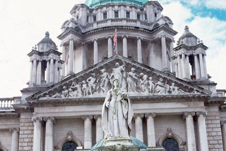 Belfast City Hall: Union flag change has provoked protests