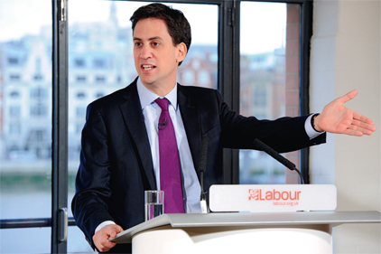 Ed Miliband: troubled year (REX Features)
