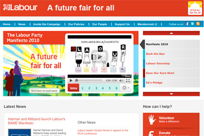 Lagging behind: Labour's site