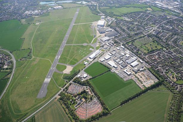 Cambridge Airport: aims to expand its services
