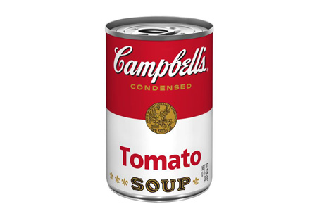 Campbell's condensed soup: Wild Card brief